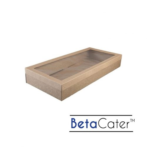 BetaCater Large Catering Box and Lid - 558 x 252 x 80mm