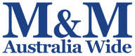 M&M Australia Wide Logo