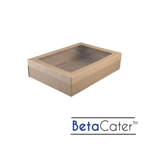 BetaCater Medium Catering Box and Lid - 359 x 252 x 80mm