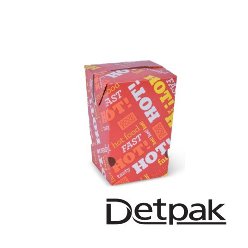 Detpak Hot Food Chip Box - DP3415063