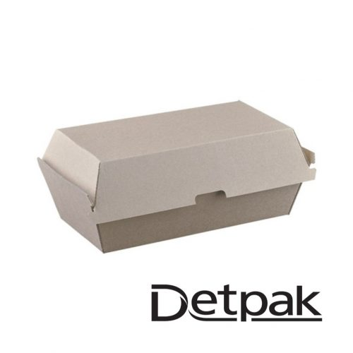 Detpak Endure Brown Snack Box - DP3415642
