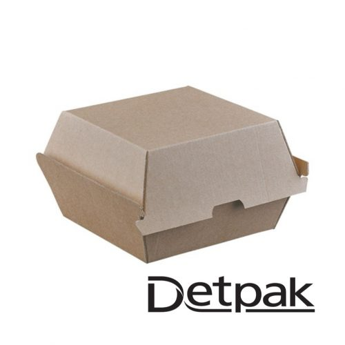 Detpak Endure Brown Burger Clam - DP3415648