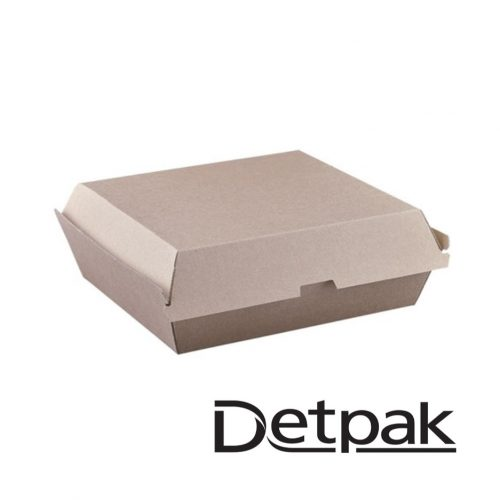 Detpak Endure Brown Dinner Box - DP3415649