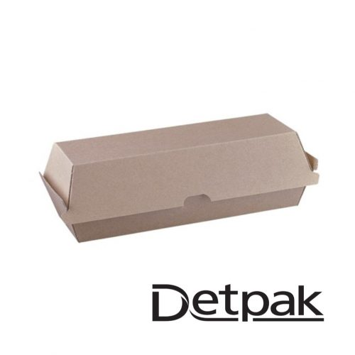 Detpak Endure Brown Hotdog Clam - DP3415765