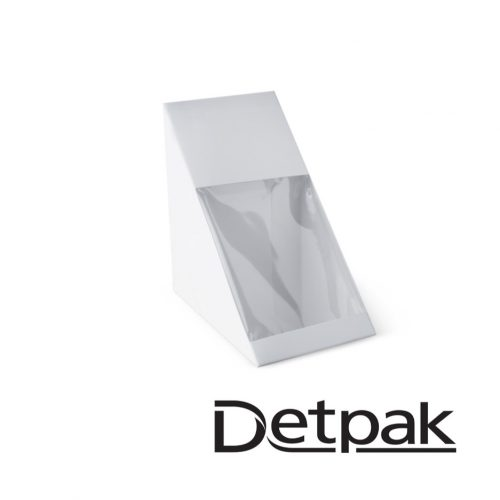 Detpak Eco White Sandwich Wedge - DP3415849