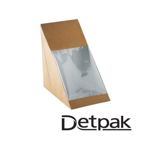 Detpak Eco Brown Sandwich Wedge - DP3415859