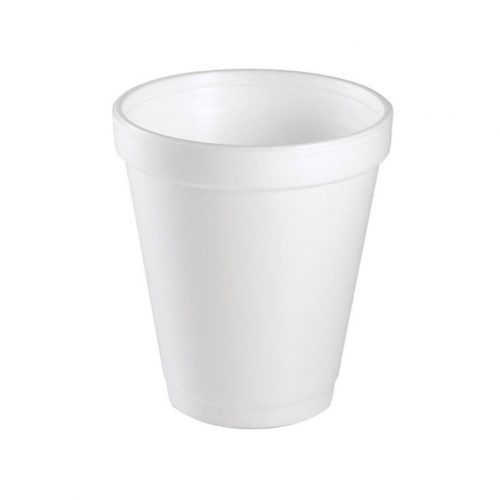 White Foam Cup 237ml 8oz - PC3428021