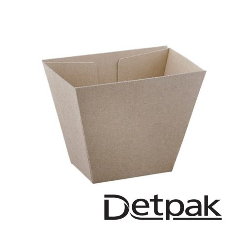 Detpak Endure Brown Chip Box - DP3428044