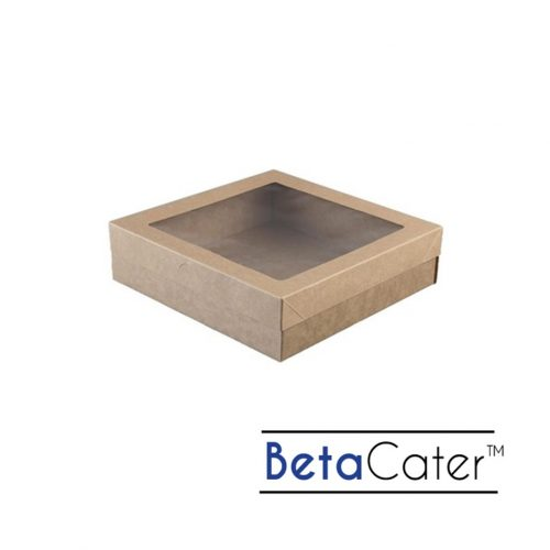BetaCater Small Catering Box and Lid - 225 x 225 x 60mm