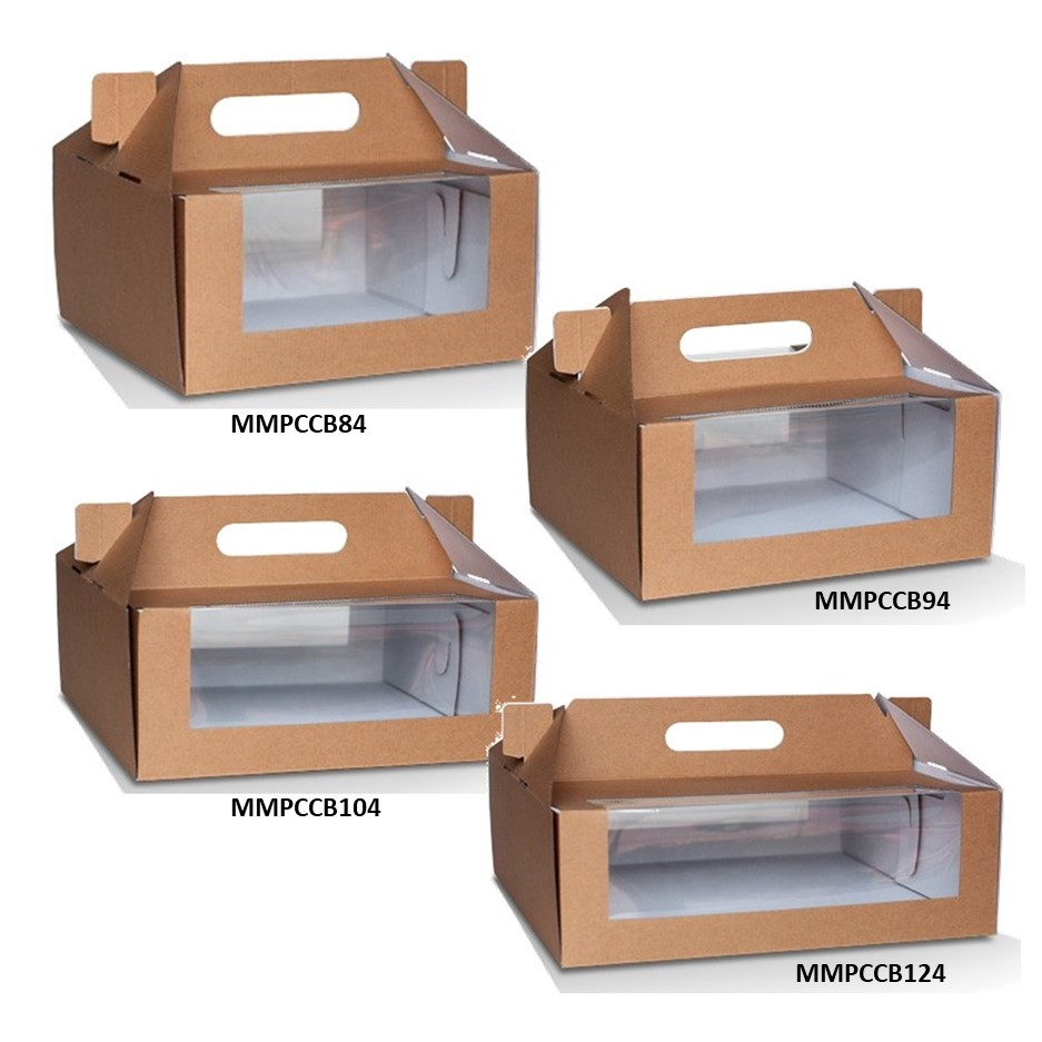 Corrugated Brown Pack N Carry Boxes
