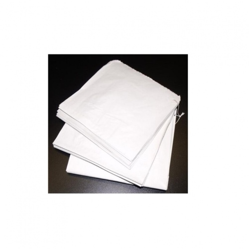 Double Lined Grease Proof Paper Bag - White