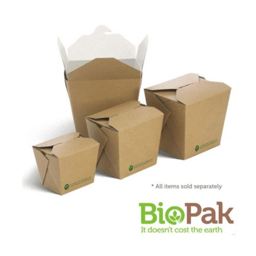 BioBoard Noodle Boxes - 8oz, 16oz, 26oz and 32oz