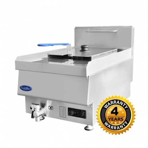 Cookrite Gas Single Tube Countertop Fryer - AT65G4F-C
