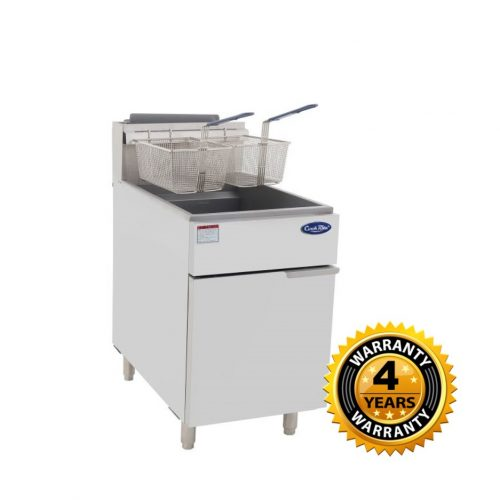 Cookrite Gas 5 Tubes Burner Deep Fryer - ATFS-75