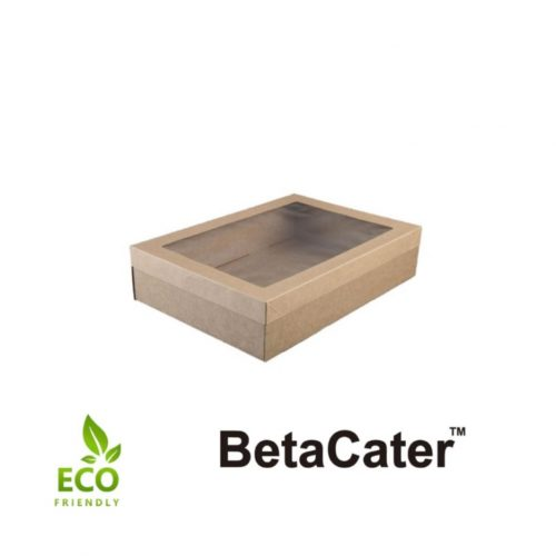 Eco BetaCater Small Catering Box and Lid - BC3423304/5