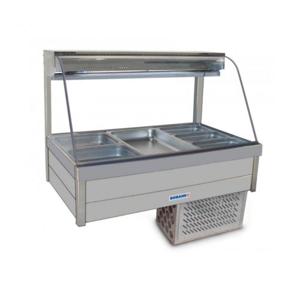 Roband Curve Glass Cold Food Display Bar - CRX23RD
