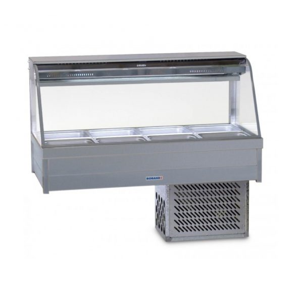 Roband Curve Glass Cold Food Display Bar - CRX24RD