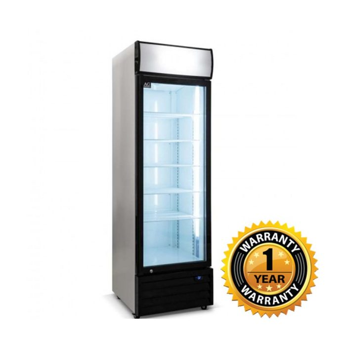 AG Upright Glass Door Fridge - CU420TNG