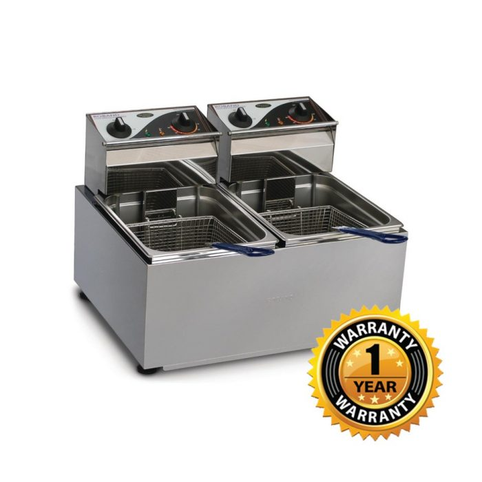 Roband Double Pan Electric Fryer - F25