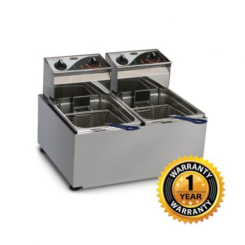 Roband Double Pan Electric Fryer - F28