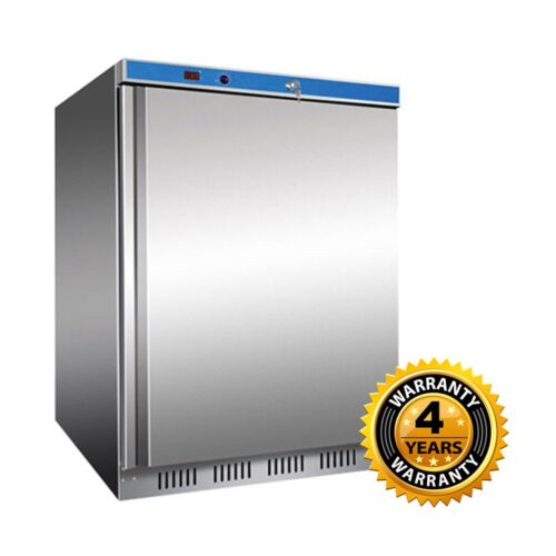 Thermaster Single Solid Door Bar Freezer 118.5lt - HF200 S/S