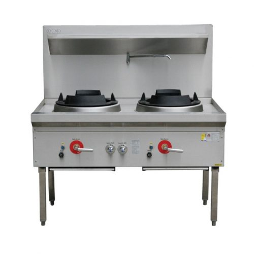 LKK Double Waterless Wok Burner - LKK-2BC
