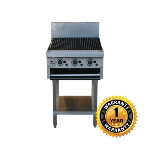 LKK Gas 600mm Chargrill - LKKCG6