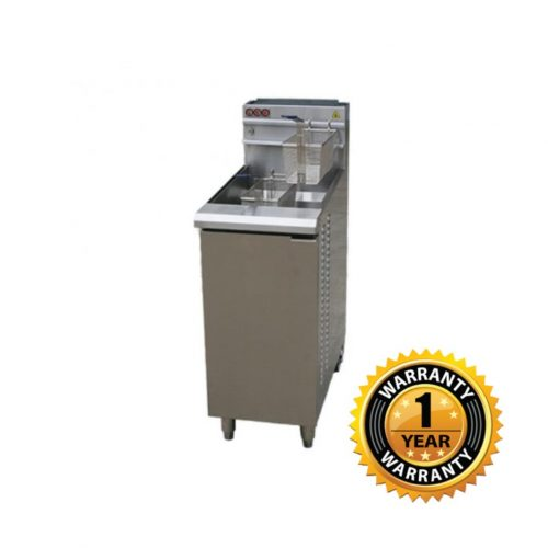 LKK Gas Single Pan Fryer - LKKGF4