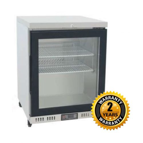 Atosa Undercount Glass Door Freezer - MBC24FG