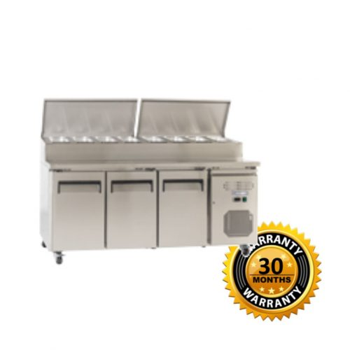 Exquisite Sandwich Preparation Fridge - MTC363H