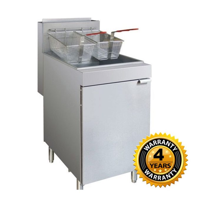 FryMax Superfast Natural Gas Tube Fryer - RC300E