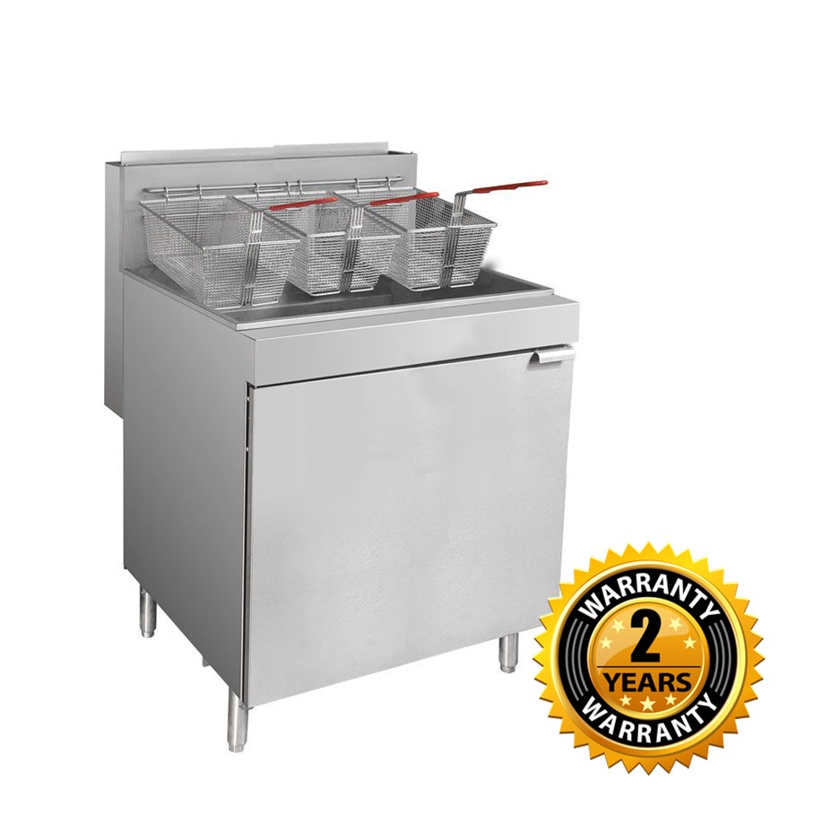 FryMax Superfast Natural Gas Tube Fryer - RC500E