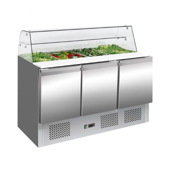 Temperate Thermaster Sandwich Preparation Bench - S903GC