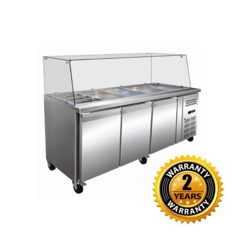 Exquisite Pizza Prep Fridge - SBC650H