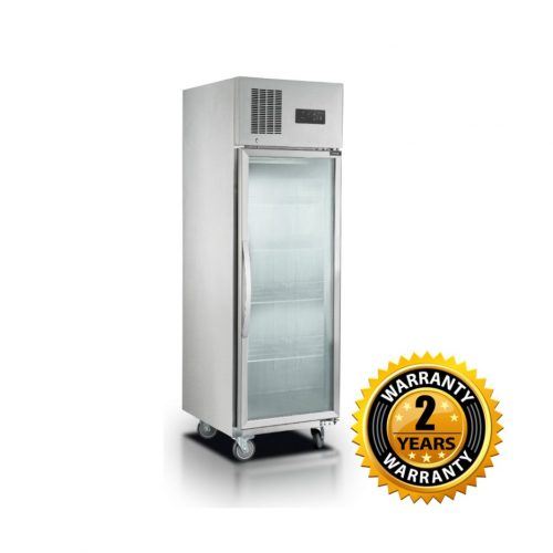 Thermaster Single Glass Door Display Freezer - SUFG500