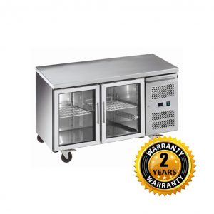 Exquisite Underbench Chiller with Glass Doors - USC260G