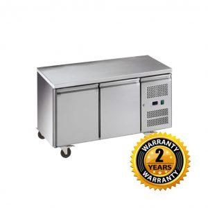 Exquisite Underbench Freezer with Solid Doors - USF260H