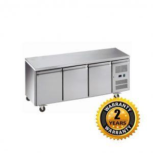 Exquisite Underbench Freezer with Solid Doors - USF400H