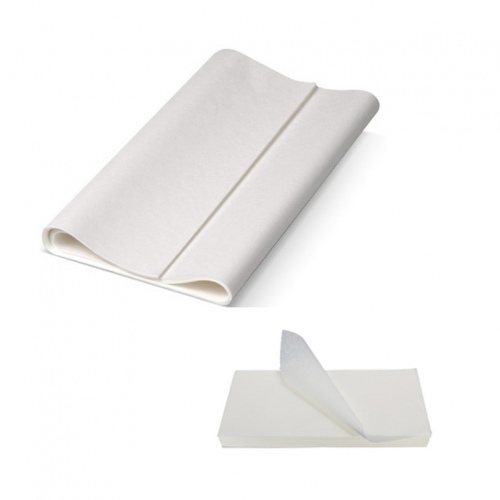 White Greaseproof Paper - Full Cut 410x660mm