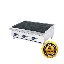 Cookrite Gas 3 Burner Chargrill - ATCB-36