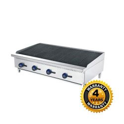 Cookrite Gas 4 Burner Chargrill - ATCB-48