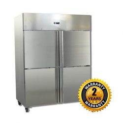 Grand Four 2/1 S/S Door Upright Fridge - GN1410TNM