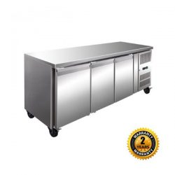Tropical 3 Door Underbench Freezer - GN3100BT