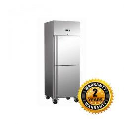 Exquisite Upright Split Solid Door Freezer - GSF652H