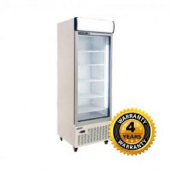 Huxford Single Glass Door Upright Fridge - HC600