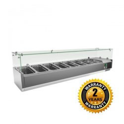 Exquisite Ingredient Countertop Chillers - ICT1800
