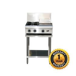 LKK 2 Burner Gas Cooktop & Hotplate - LKKOB4C
