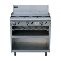 LKK Gas Griddle Toaster - LKKOB6A+T