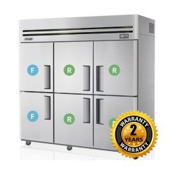 Skipio Combination Fridge & Freezer - SRFT65-6