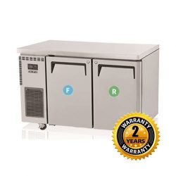 Skipio Under Counter Combination Fridge & Freezer - SURF12-2